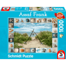 Пазл Schmidt, 1000 элементов - Ассаф Франк. Морские ракушки