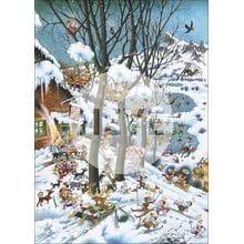 Пазл Heye, 1000 элементов - Рай зимой