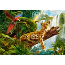 Пазл Castorland, 1000 элементов - Леопард
