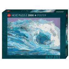 Пазл Heye, 2000 элементов - Карта-волна