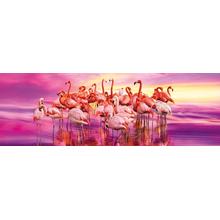 Пазл Clementoni, 1000 элементов - Розовые фламинго