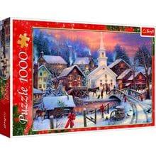 Пазл Trefl, 1000 элементов - Зимний праздник