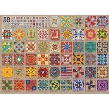 Пазл Cobble Hill, 1000 элементов - 50 узоров