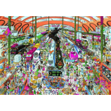 Пазл Heye, 2000 элементов - ЖД вокзал