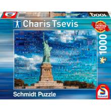Пазл Schmidt, 1000 элементов - Чарис Цевис. Фото коллаж - Нью-Йорк