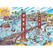 Пазл Cobble Hill, 1000 элементов - Сан-Франциско