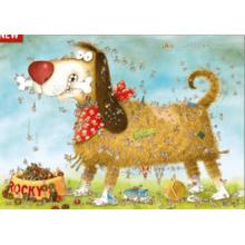 Пазл Heye, 1000 элементов - Degano: Собачья жизнь