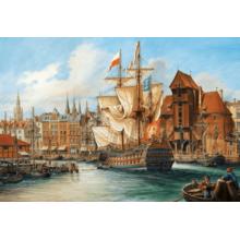 Пазл Castorland, 1000 элементов - Старый Гданьск