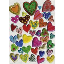 Пазл Heye, 1000 элементов - Сердца