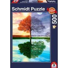 Пазл Schmidt, 500 элементов - Времена года