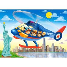 Пазл Castorland, 60 элементов - Полёт над Нью-Йорком