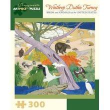 Пазл Pomegranate, 300 элементов - Птицы и животные США