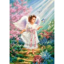 Пазл Castorland, 500 элементов - Ангел в саду