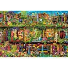 Пазл Trefl, 1500 элементов - Сказочная библиотека