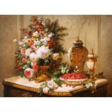 Пазл Castorland, 3000 элементов - Цветы. Живопись