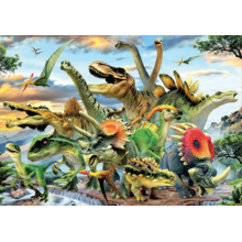 Пазл Educa, 500 элементов - Динозавры