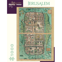 Пазл Pomegranate, 1000 элементов - План Иерусалима 1588