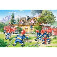 Пазл Castorland, 40 элементов - Пожарные