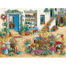Пазл Cobble Hill, 275 элементов - Модный цветочный магазин