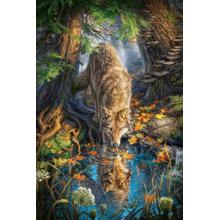 Пазл Castorland, 1500 элементов - Волк в лесу