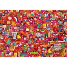 Пазл Schmidt, 1000 элементов - Ш. Дэвис: Коллаж - Винтажные игрушки