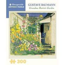 Пазл Pomegranate, 300 элементов - Бауманн: Сад бабушки Баттин