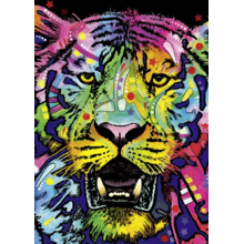 Пазл Heye, 1000 элементов - Не шутите с тигром