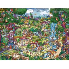 Пазл Heye, 1500 элементов - Сказочный лес