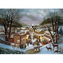 Пазл Cobble Hill, 1000 элементов - Воспоминания о рождестве