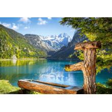 Пазл Castorland, 1500 элементов - Озеро, Австрия