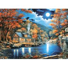 Пазл Castorland, 2000 элементов - Домик на озере