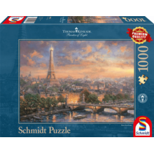 Пазл Schmidt, 1000 элементов - Томас Кинкейд: Город любви Париж