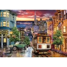 Пазл Clementoni, 3000 элементов - Трамвай в Сан-Франциско