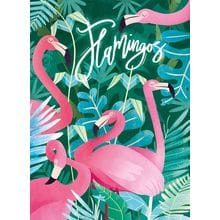 Пазл Clementoni, 500 элементов - Фламинго