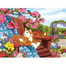 Пазл Cobble Hill, 275 элементов - Весеннее цветение