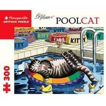 Пазл Pomegranate, 300 элементов - Б. Клибан: Кот в бассейне