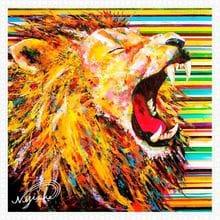 Пазл Pintoo, 1600 элементов - NiJiSuKe: Лев