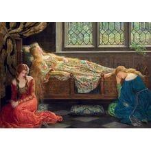 Пазл Educa, 1500 элементов - Джон Кольер: Спящая красавица
