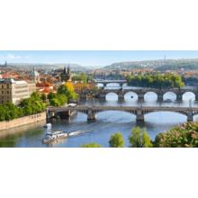 Пазл Castorland, 4000 элементов - Река Влтава, Прага