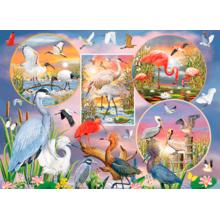 Пазл Cobble Hill, 1000 элементов - Магия водных птиц