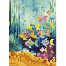 Пазл Heye, 1000 элементов - Стая рыбок