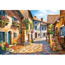 Пазл Castorland, 1000 элементов - Улица в цветах