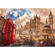 Пазл Clementoni, 1500 элементов - Коллаж Лондон