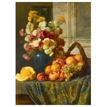Пазл Stella, 3000 элементов - Сверчков В.Д.: Цветы и фрукты