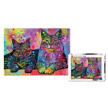 Пазл Heye,1000 элементов - Две кошки