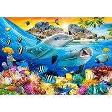 Пазл Castorland, 1000 элементов - Дельфины в тропиках