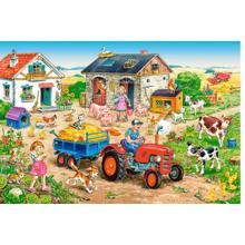 Пазл Castorland, 40 элементов - Жизнь на ферме