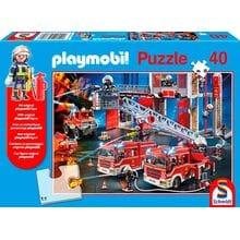 Пазл Schmidt, 40 элементов - Пожарная станция