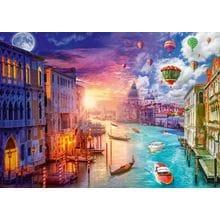 Пазл Schmidt, 1000 элементов - Л. Стеварт: Венеция. День - Ночь