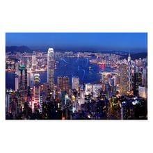 Пазл Pintoo, 1000 элементов - Гонконг ночью